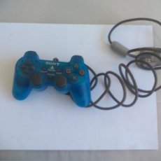 Videojuegos y Consolas: MANDO CONTROLADOR DUALSHOCK AZUL TRANSPARENTE SCPH - 1200 PARA CONSOLA SONY PLAYSTATION PS1. Lote 150316046