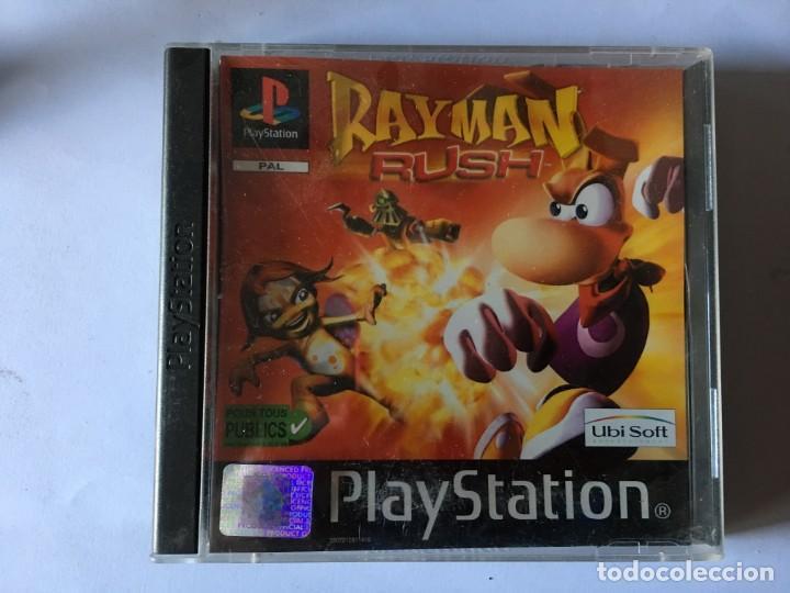 RAYMAN RUSH (JUEGO PS1 - PLAYSTATION 1 - PSX) (Juguetes - Videojuegos y Consolas - Sony - PS1)