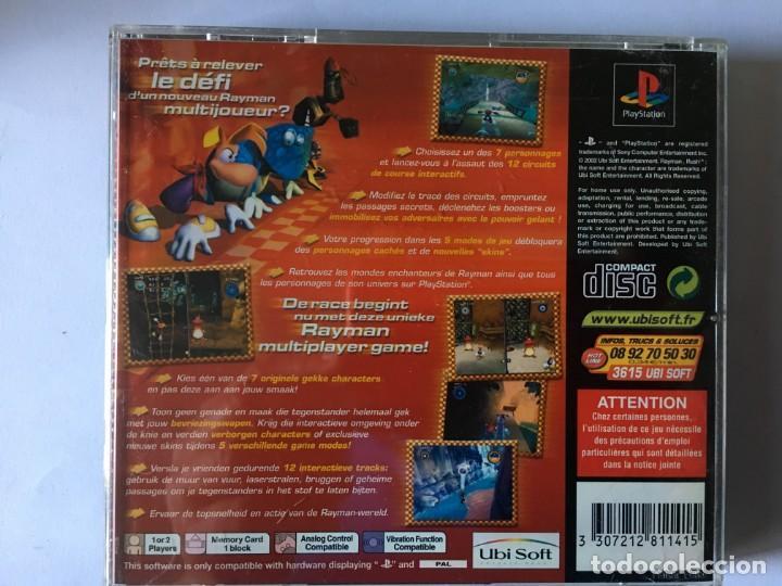 Videojuegos y Consolas: RAYMAN RUSH (JUEGO PS1 - PLAYSTATION 1 - PSX) - Foto 3 - 136168314
