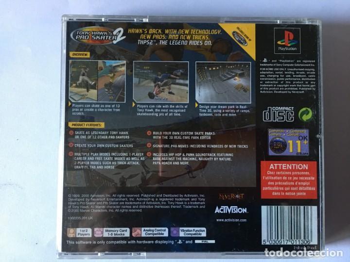 Videojuegos y Consolas: TONY HAWKS PRO SKATER 2 (JUEGO PS1 - PLAYSTATION 1 - PSX) - Foto 2 - 136168630