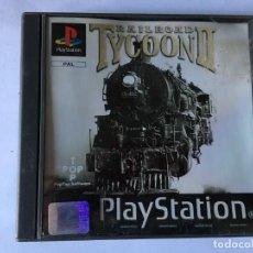 Videojuegos y Consolas: RAILROAD TYCOON II (JUEGO PS1 - PLAYSTATION 1 - PSX). Lote 136168706