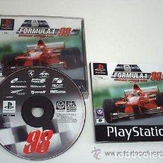 Videojuegos y Consolas: JUEGO PLAYSTATION FORMULA 1 98. Lote 136355554