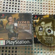 Videojuegos y Consolas: TOMB RAIDER THE LAST REVELATION CASTELLANO PSX PS1 PLAYSTATION 1 PLAY STATION ONE PS KREATEN. Lote 136514274