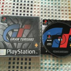 Videojuegos y Consolas: GRAN TURISMO 1 THE REAL DRIVING SIMULATOR PSX PS1 PLAYSTATION 1 PLAY STATION ONE PS KREATEN. Lote 136514486
