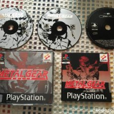 Videogiochi e Consoli: METAL GEAR SOLID + SILENT HILL DEMO PSX PS1 PLAYSTATION 1 PLAY STATION ONE PS KREATEN. Lote 136515746