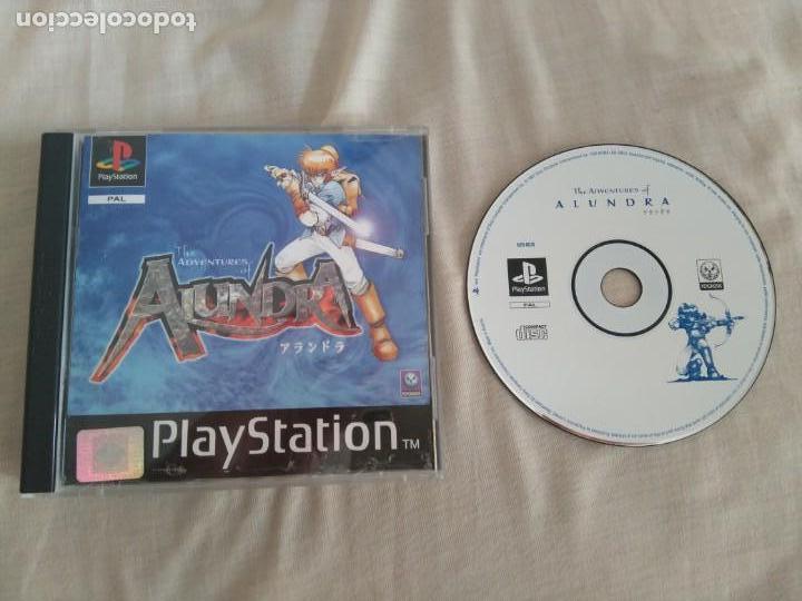 ALUNDRA PARA PS1 PS2 Y PS3!!! (Juguetes - Videojuegos y Consolas - Sony - PS1)