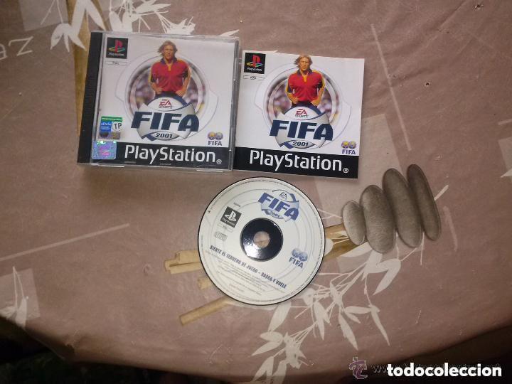 JUEGO PLAYSTATION FIFA 2001 (Juguetes - Videojuegos y Consolas - Sony - PS1)