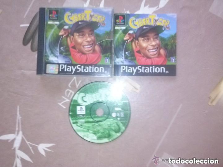 JUEGO PLAYSTATION CYBER TIGER (Juguetes - Videojuegos y Consolas - Sony - PS1)