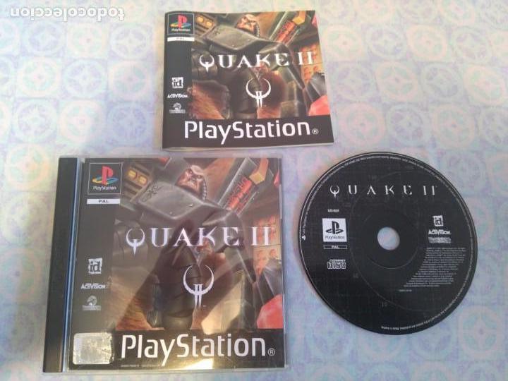 QUAKE II PARA PS1 PS2 Y PS3!!!! (Juguetes - Videojuegos y Consolas - Sony - PS1)