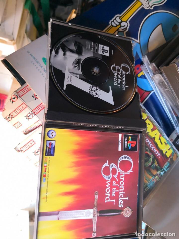 JUEGO DE PLAYSTATION CHRONICLES OF THE SWORD SONY PLAY STATION 1 (Juguetes - Videojuegos y Consolas - Sony - PS1)
