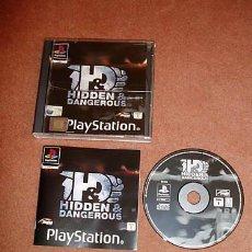 Videojuegos y Consolas: JUEGO PLAYSTATION HIDDEN & DANGEROUS. Lote 139132678