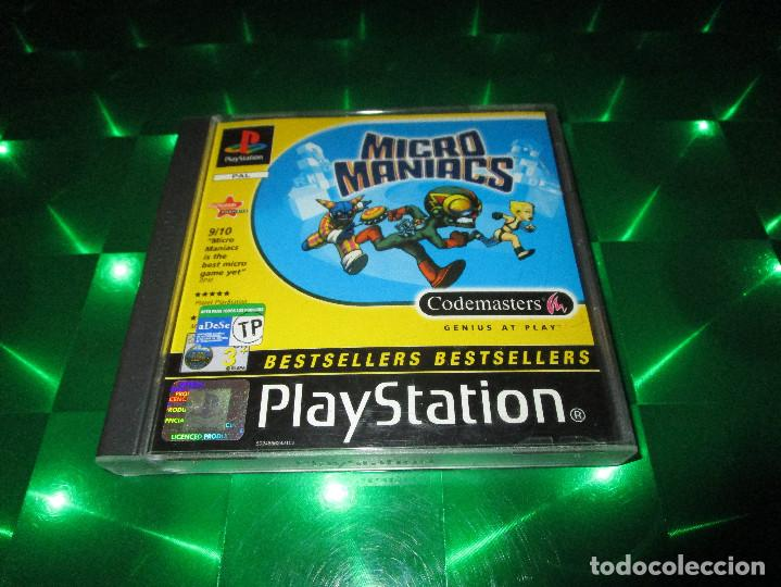 Videojuegos y Consolas: MICRO MANIACS - PSX - SLES 01921 - CODEMASTERS - A DIFFERENT RACE ALTOGETHER - Foto 2 - 139646010