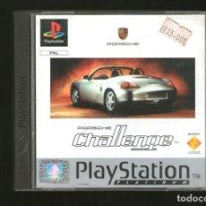 Videojuegos y Consolas: PORSCHE CHALLENGE PLAYSTATION PAL ESPAÑA EDICIÓN PLATINUM COMPLETO PSX PS1. Lote 139915102