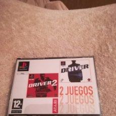 Videojuegos y Consolas: PACK DRIVER I Y DRIVER II PS1. Lote 140032976