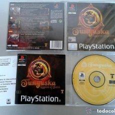 Videojuegos y Consolas: JUEGO PLAYSTATION TUNGUSKA. Lote 140664702
