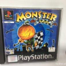 Videojuegos y Consolas: JUEGO MONSTER RACER DE PS1 PLAYSTATION 1. Lote 140937518