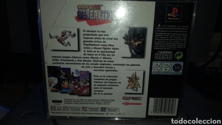 Videojuegos y Consolas: Capcom generations playstation 1 (SIN MANUAL) - Foto 2 - 141130322
