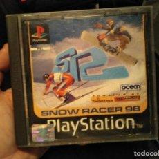 Videojuegos y Consolas: JUEGO PLAY STATION 1 SNOW RACER . Lote 141197674