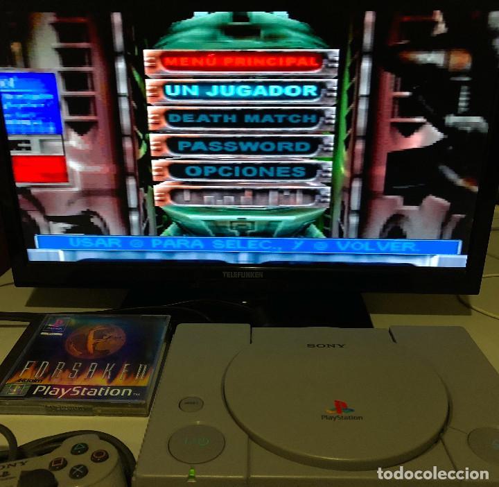 Videojuegos y Consolas: Forsaken PlayStation PSX PS1 PSone - Foto 4 - 141313230