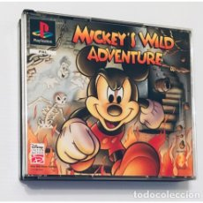 Videojuegos y Consolas: MICKEY'S WILD ADVENTURE [DISNEY] 1996[PSX PLAYSTATION PS1 PSONE] SCES-00163 (CAJA DOBLE ED PLATINUM). Lote 141537052