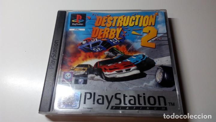 JUEGO DESTRUCTION DERBY 2 PS1 PS ONE PAL FUNCIONANDO PERFECTAMENTE (Juguetes - Videojuegos y Consolas - Sony - PS1)