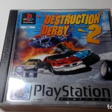 Videojuegos y Consolas: JUEGO DESTRUCTION DERBY 2 PS1 PS ONE PAL FUNCIONANDO PERFECTAMENTE. Lote 141612634