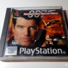 Videojuegos y Consolas: JUEGO 007 TOMORROW NEVER DIES PS1 PS ONE PAL FUNCIONANDO PERFECTAMENTE. Lote 141612654