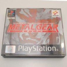 Videojuegos y Consolas: METAL GEAR SOLID PAL PSX PS1 COMPLETO. Lote 141944974