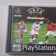 Videojuegos y Consolas: UEFA CHALLENGE PLAY 1 PS1 COMPLETO. Lote 142055458