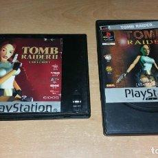 Videojuegos y Consolas: 2 JUEGOS TOMB RAIDER I Y II PLAYSTATION PAL ESPAÑA. Lote 142066766