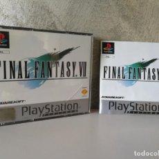 Videojuegos y Consolas: FINAL FANTASY VII COMPLETO Y CON CD DE DEMO. Lote 142313138