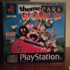 Videojuegos y Consolas: THEME PARK WORLD PLAYSTATION LEER ANTES DE COMPRAR. Lote 142462156