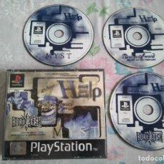 Videojuegos y Consolas: BROKEN SWORD + MYST + ROAD CRASH PARA PS1 PS2 Y PS3!!!!!. Lote 206281092