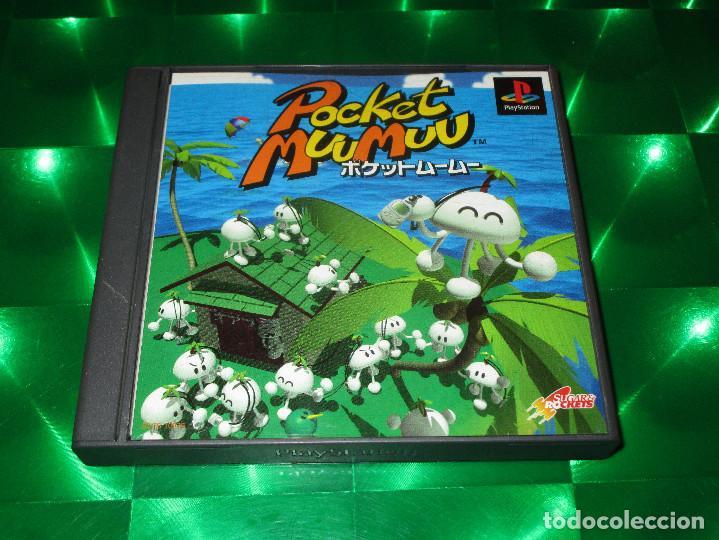 Videojuegos y Consolas: POCKET MUUMUU - PSX - SCPS 10076 - FOR JAPAN ONLY - NTSC (J) - SONY - INCLUYE PEGATINAS O STICKERS - Foto 3 - 142996318