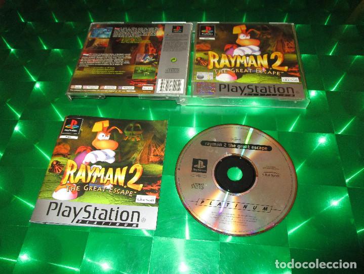 RAYMAN 2 (THE GREAT ESCAPE ) - PSX - SLES 02906 - UBISOFT - PAL - EDICION NO ESPAÑOLA (Juguetes - Videojuegos y Consolas - Sony - PS1)