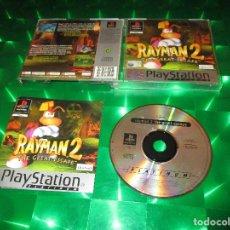 Videojuegos y Consolas: RAYMAN 2 (THE GREAT ESCAPE ) - PSX - SLES 02906 - UBISOFT - PAL - EDICION NO ESPAÑOLA. Lote 142999326