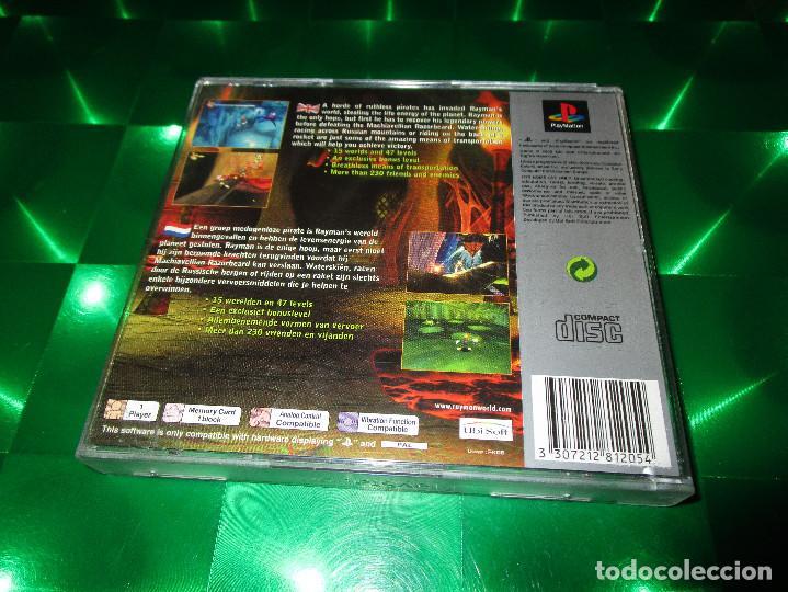 Videojuegos y Consolas: RAYMAN 2 (THE GREAT ESCAPE ) - PSX - SLES 02906 - UBISOFT - PAL - EDICION NO ESPAÑOLA - Foto 3 - 142999326