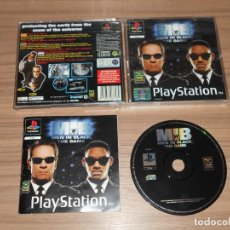 Videojuegos y Consolas: MIB MEN IN BLACK COMPLETO PLAYSTATION PAL ESPAÑA. Lote 143082218