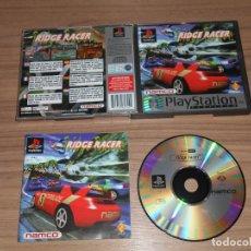 Videojuegos y Consolas: RIDGE RACER COMPLETO PLAYSTATION PAL ESPAÑA. Lote 143082578