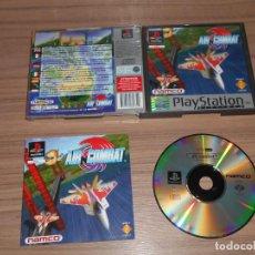 Videojuegos y Consolas: AIR COMBAT COMPLETO PLAYSTATION PAL ESPAÑA. Lote 143082994