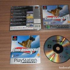 Videojuegos y Consolas: COOL BOARDERS 3 COMPLETO PLAYSTATION PAL ESPAÑA. Lote 143083258