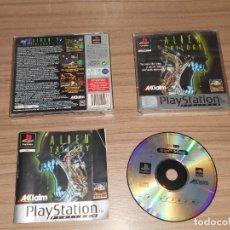 Videojuegos y Consolas: ALIEN TRILOGY COMPLETO PLAYSTATION PAL ESPAÑA. Lote 143083426