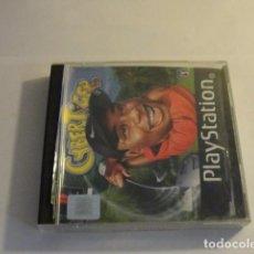 Videojuegos y Consolas: LOTE JUEGO PS1 CYBER TIGER CON MANUAL PLAYSTATION..SALIDA 1 EURO. Lote 143143606