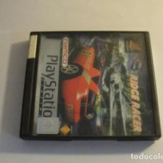 Videojuegos y Consolas: LOTE JUEGO PS1 RIDGE RACER PLATINIUM PLAYSTATION..SALIDA 1 EURO. Lote 143143850