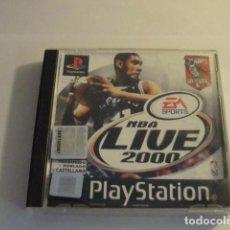 Videojuegos y Consolas: LOTE JUEGO PS1 NBA LIVE 2000 CON MANUAL PLAYSTATION..SALIDA 1 EURO. Lote 143143938