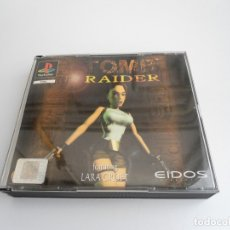 Videojuegos y Consolas: TOMB RAIDER - VERSIÓN PAL EN ESPAÑOL 1ª EDICION - PLAYSTATION 1 - PS1 PSX - FUNCIONANDO - SLES-00024. Lote 143223437