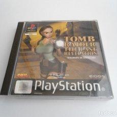 Videojuegos y Consolas: TOMB RAIDER THE LAST REVELATION - VERSIÓN PAL EN ESPAÑOL - PLAYSTATION 1 - PS1 PSX - SLES-02242. Lote 143227718