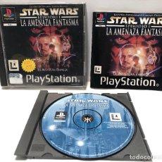 Videojuegos y Consolas - Star Wars: Episodio I La Amenaza Fantasma PlayStation PSX PS1 PSone - 143777126