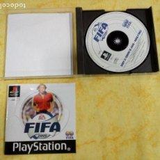 Videojuegos y Consolas: PS1 JUEGOS DE LA PLAY 1 FIFA 2001. Lote 143796646