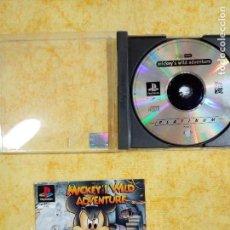 Videojuegos y Consolas: PS1 JUEGOS DE LA PLAY 1 MICKEY WILD AVENTURE *. Lote 143797442